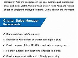 Charter Sales Manager