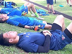 Mongolian national team prepare for World Cup qualifier in Phuket