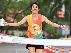 Filipino and Japanese runners shine at 2019 Laguna Phuket Marathon