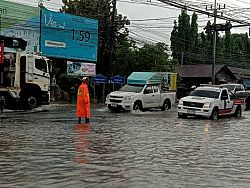 Heavy downpours drench Phuket