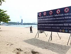Pattaya beaches reopen from Monday