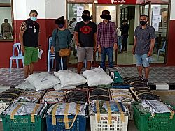 Three arrested for attempting to smuggle 230kg of kratom into Phuket