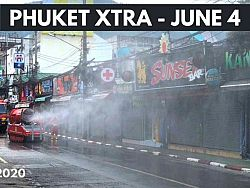 PHUKET XTRA: VIDEO: Pubs, sport competitions set for restart? Drugs lead in Phuket murder-suicide! || June 4