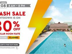 Buy now, stay later with Thanyapura's one day Flash Sale