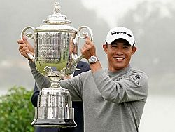 Morikawa takes first major at PGA Championship