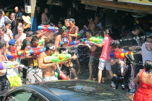 SONGKRAN: Let the battle commence