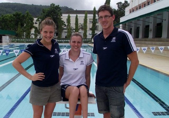 Paralympians dive into Phuket