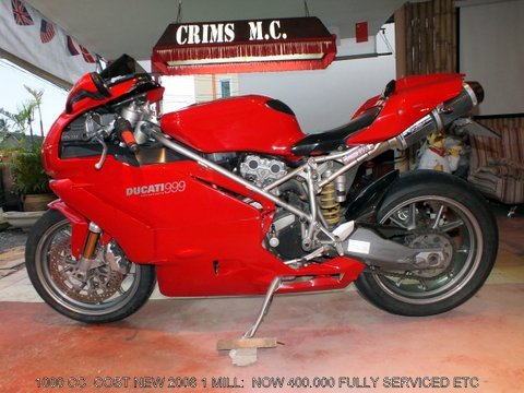 Ducati 999 Big Bike For Sale