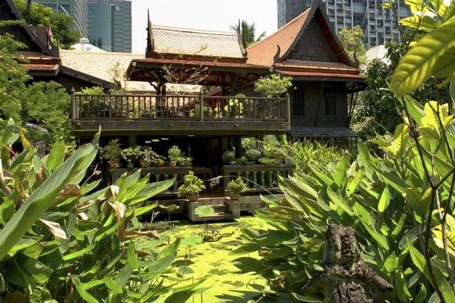 Quiet Bangkok home of a man of many parts