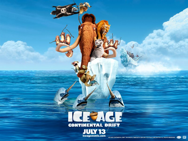 REVIEW: Ice Age 4: Continental Drift
