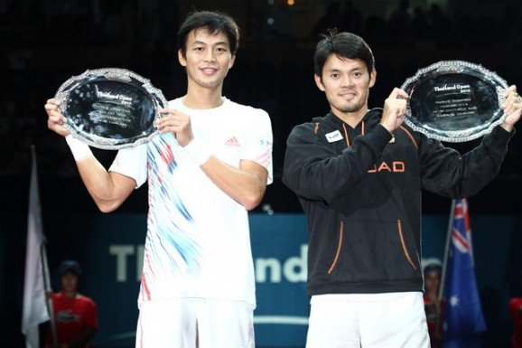 Thailand's Udomchoke claims victory in Thailand Open doubles