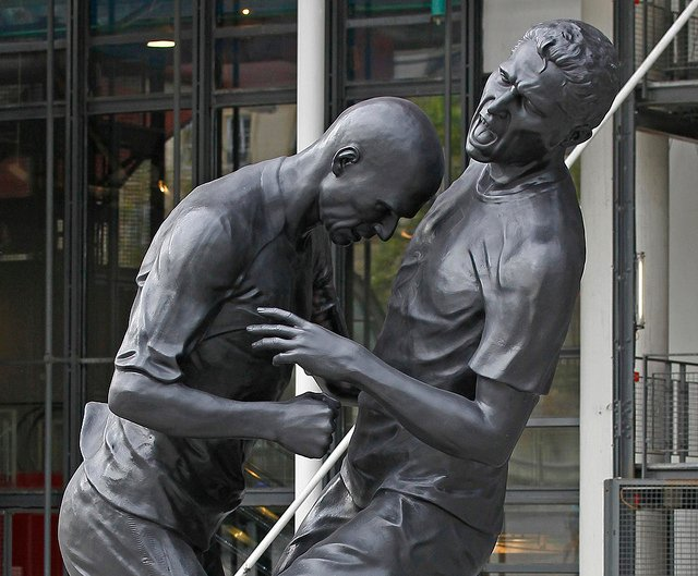 France immortalises Zidane headbutt with 5-metre statue
