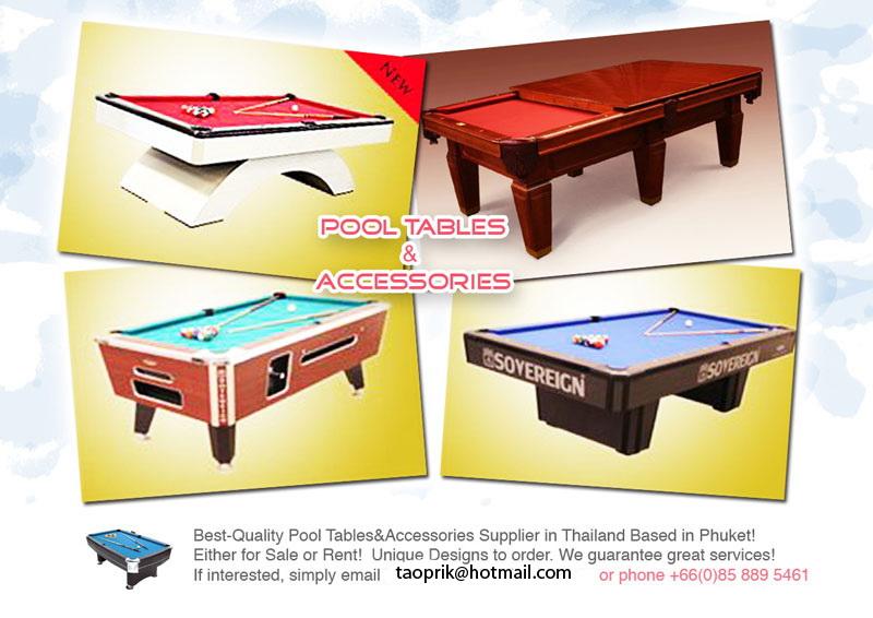 Pool Tables Phuket