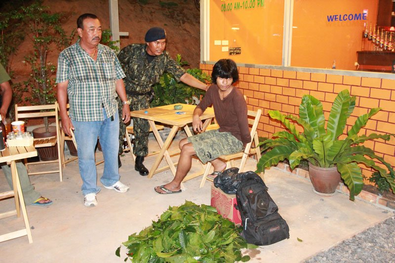 Phuket: Phang Nga native arrested with kratom stash