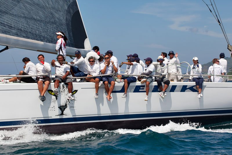 Jelik keeps IRC-Zero lead in Phuket King's Cup Regatta