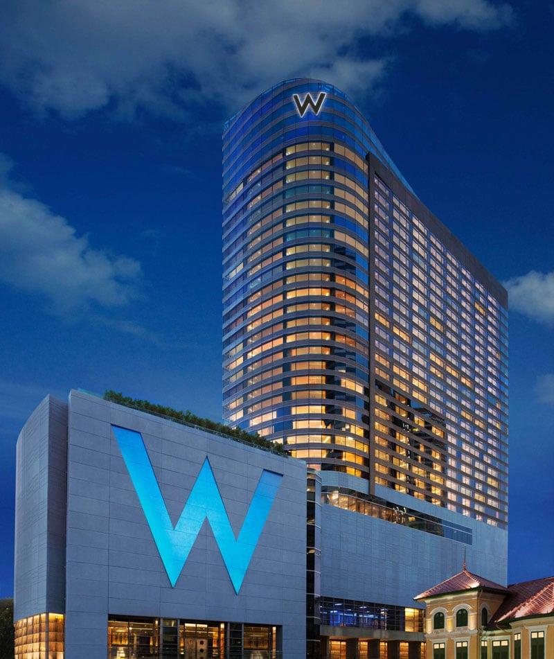 Phuket W Hotels Worldwide Debuts W Bangkok