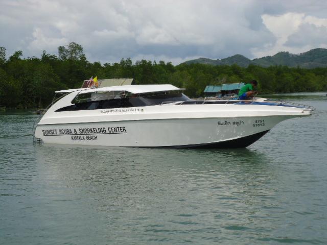 Custom Built Diving Speedboat