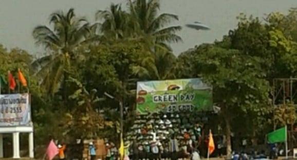 UFO sighting startles Thai school students