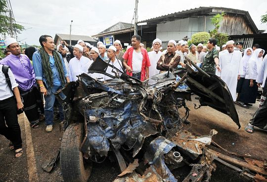 Four traders killed in insurgency-hit Thai south