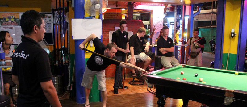 Pita Bar players top Southern Phuket Pool League finals