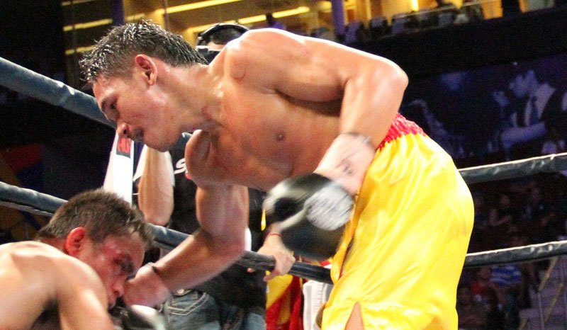 Pungluang defeated AJ Banal in the Phillipines last year to take his WBO title.