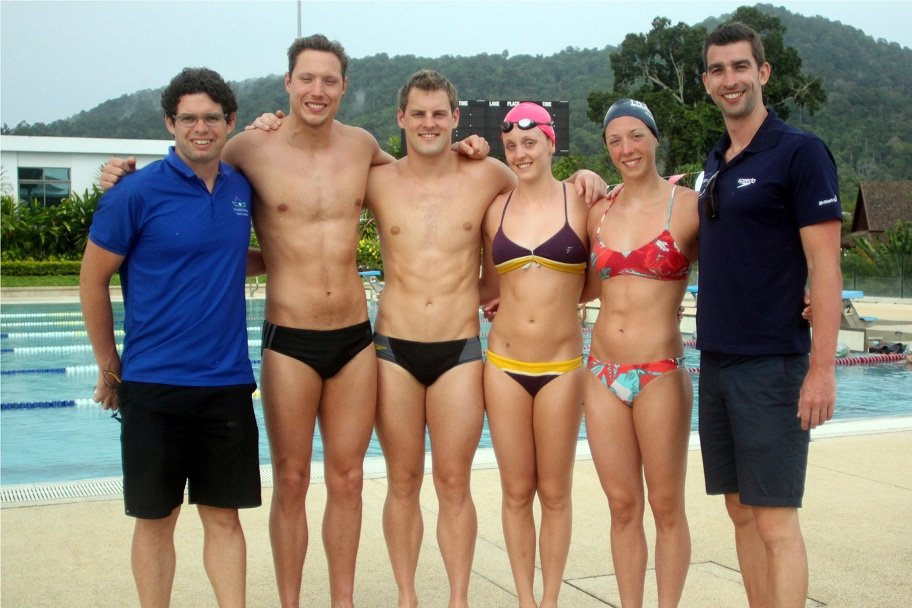 British swim stars in Phuket