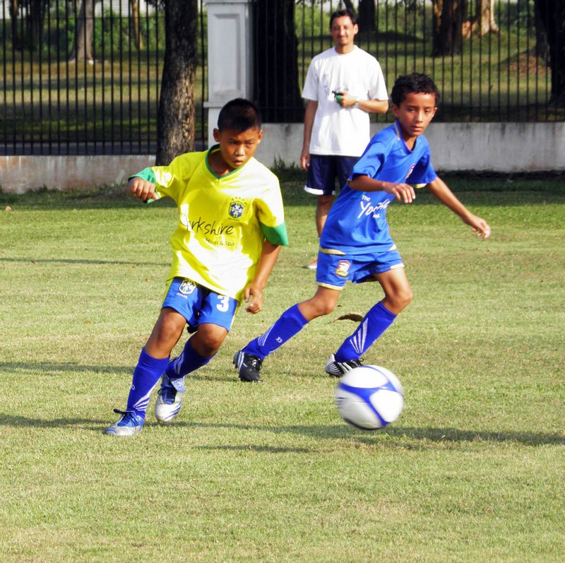 U11 Brazil defeat England in island's Fair Play League