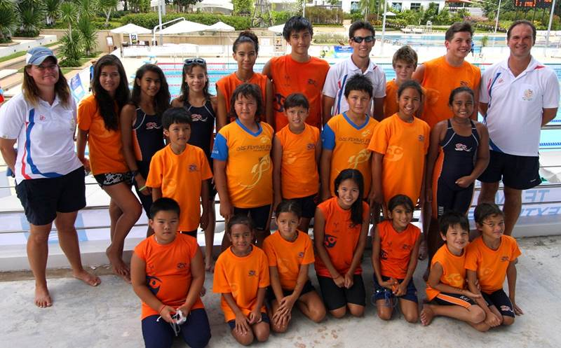 BIS swim team hosts all-Asia tournament