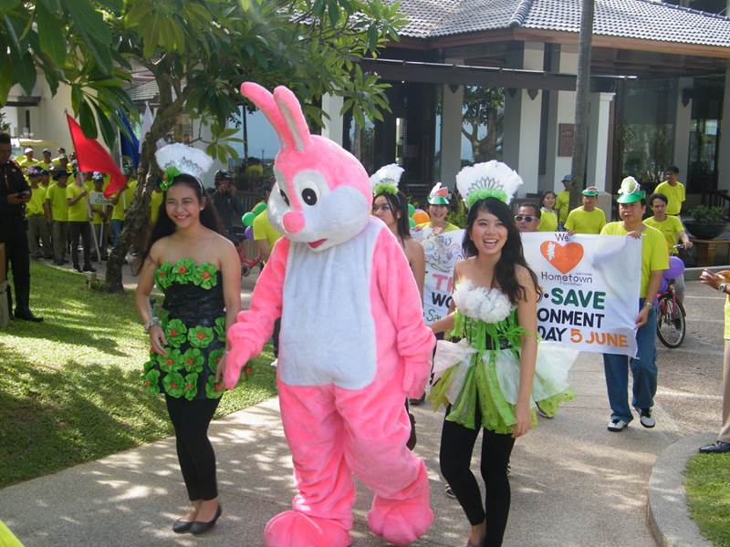 Katathani Phuket Beach Resort hosted its annual Environmental Day.