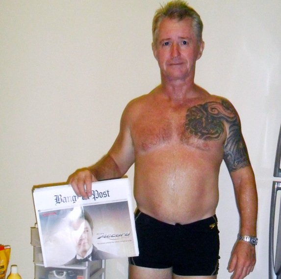 Phuket: 53-year-old Aussie gets ripped and raring to go