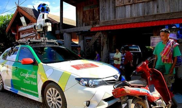 Google car stopped as suspected govt spy