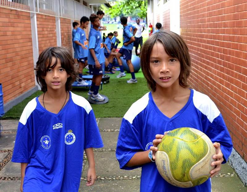 Phuket brothers impress at Brazilian football academy