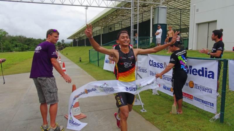 Winning spirit shown at Thanyapura Superkidz Duathlon