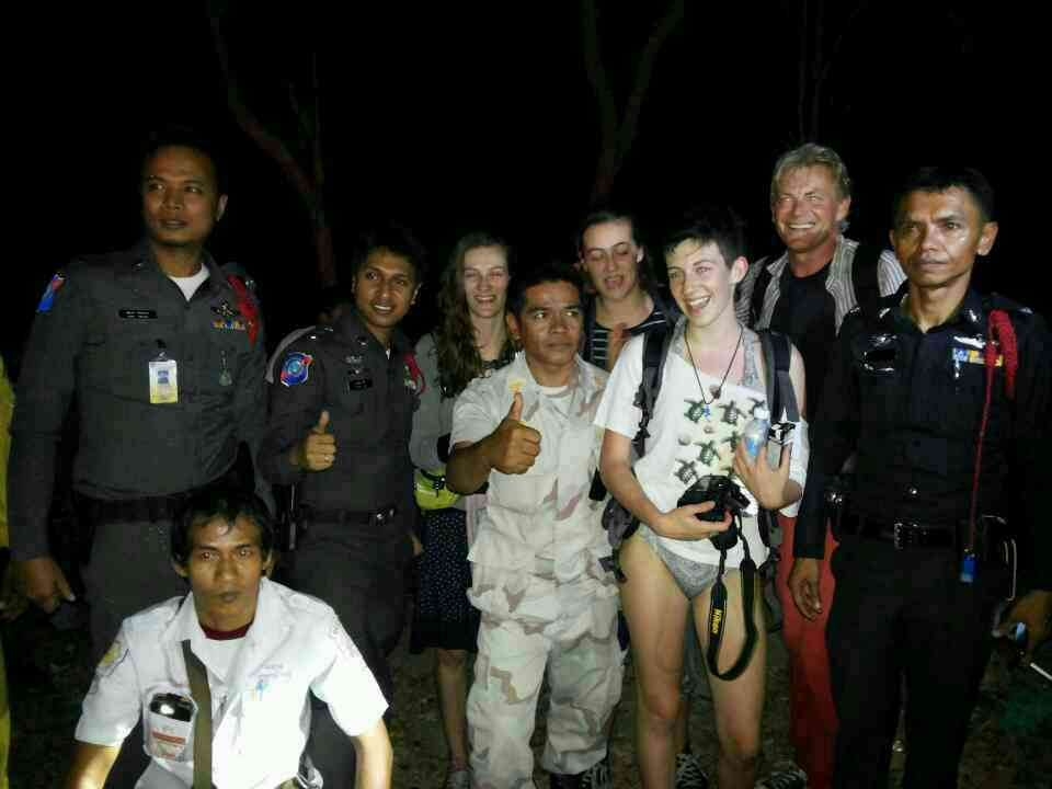French family rescued from deep forest in Phuket after losing their way in search for hotel