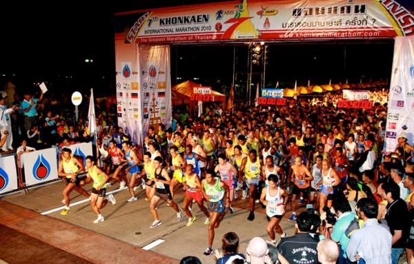 Stage is set for Thailand's biggest marathon