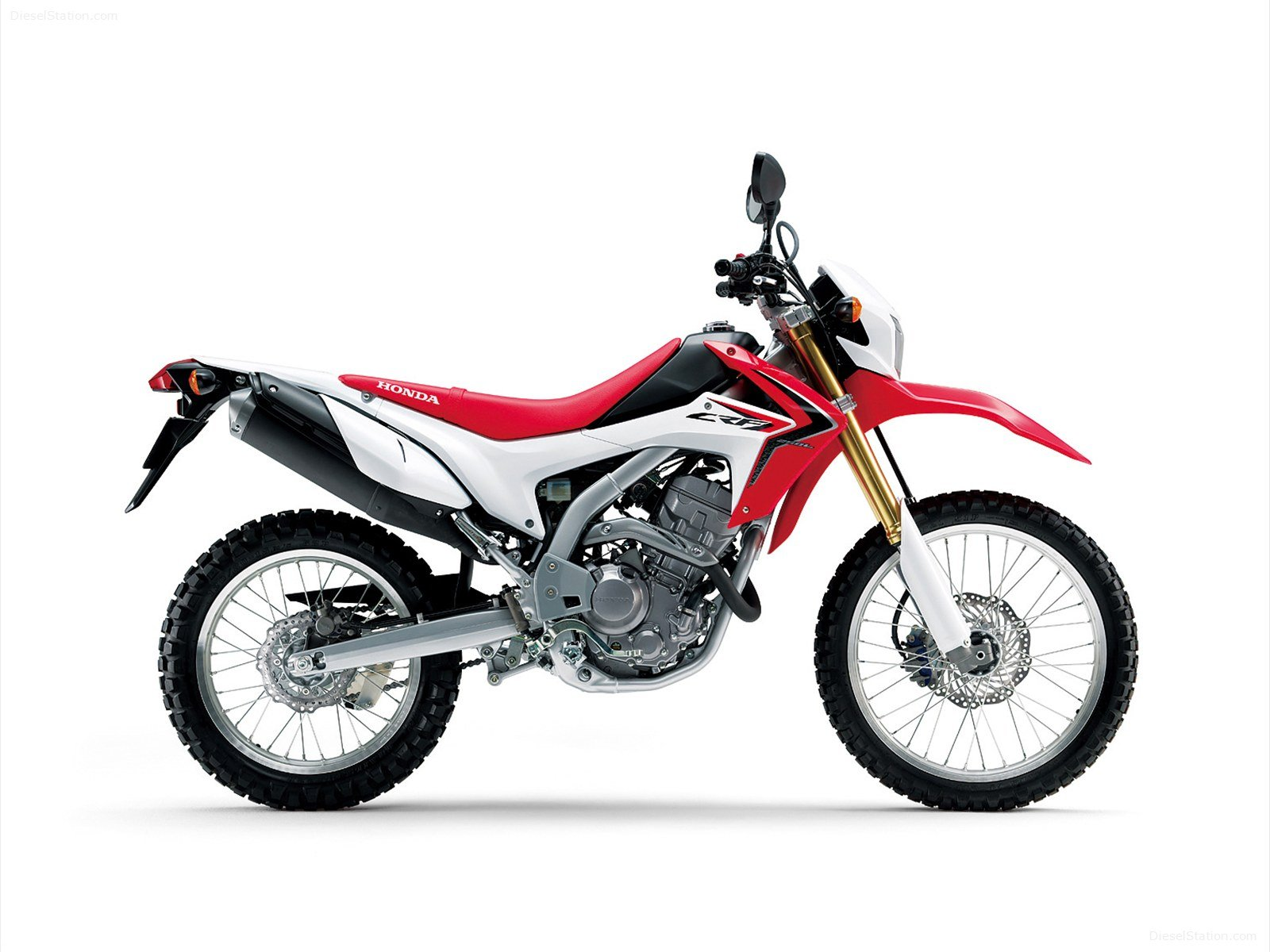 NEW HONDA CRF250 ONLY 700 KM