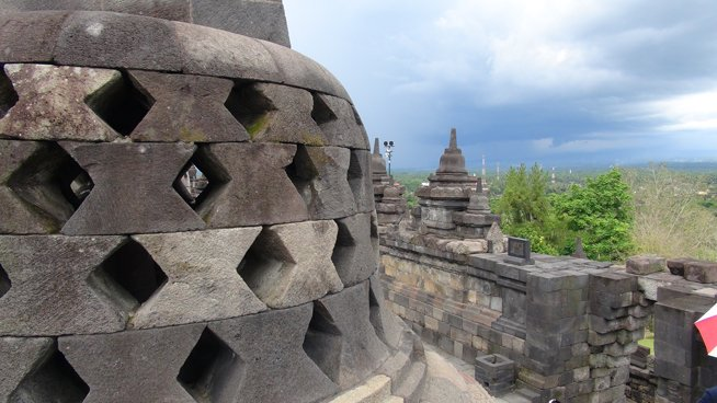 Ancient temples, active volcanoes in Yogyarkarta