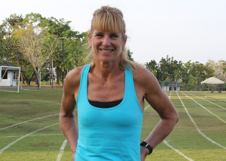 No rest for the wicked: Phuket teacher and athlete Michele Hossack