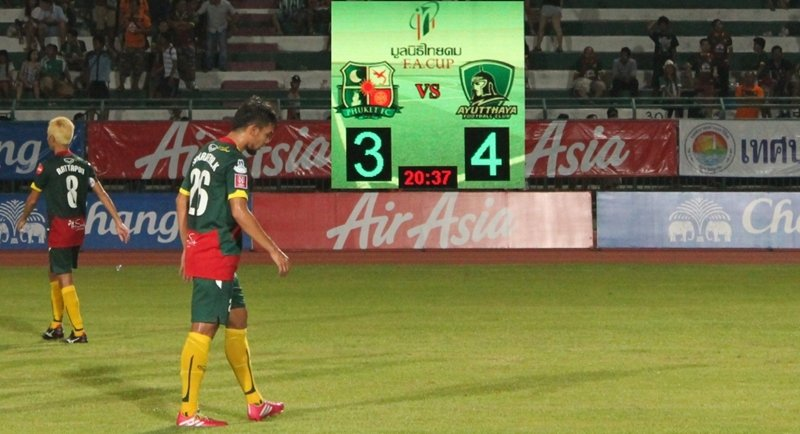 Ayuthaya FC's ancient warriors conquer Phuket in FA Cup match