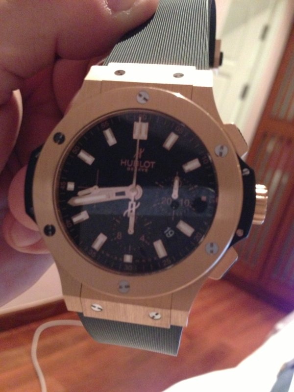 Stolen HUBLOT Watch REWARD !