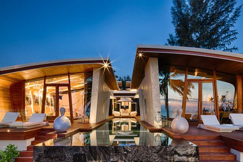 Two Phuket hotels in Condé Nast Hot List 2014