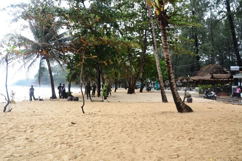 Surin Beach this morning