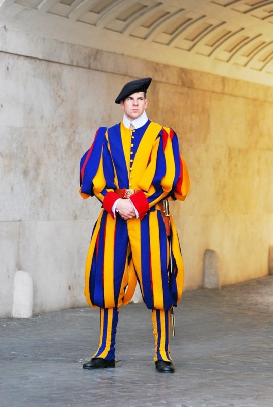 Swiss Guard.