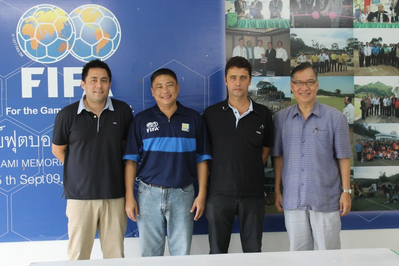 FIFA reps visit Phuket ahead of Thailand Asian Games football friendlies