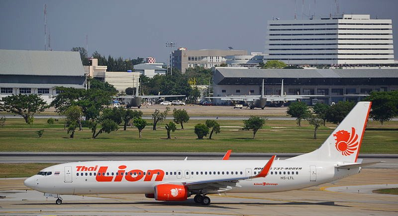 Thai Lion Air will use Boeing 737-900 ER aircraft for the Phuket-Bangkok Route. Photo Alec Wilson