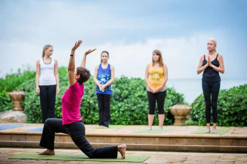 MIND, BODY AND SOUL: The courses emphasise on healthy meditation, dining and mental exercises.