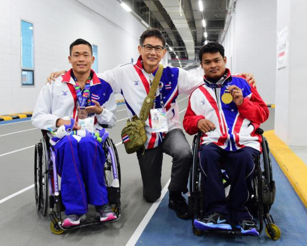 Thais win four gold medals at Asian Para Games