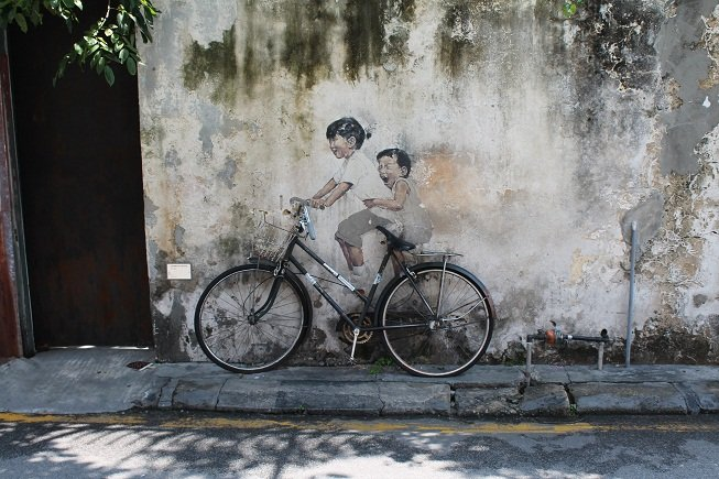 Exploring the heritage of Penang, Malaysia