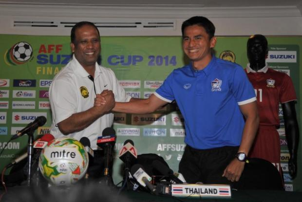 Coach Kiatisak determined ahead of today's title match