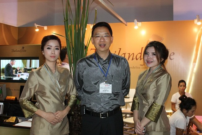 Thailand Elite relaunch at boat exhibition
